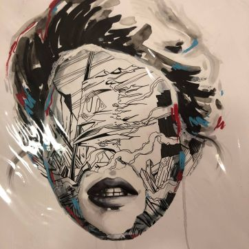 Sandra Chevrier, That a superman died