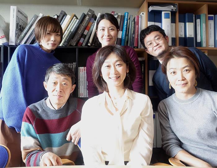 中学の同級生の内田さん事務所来訪