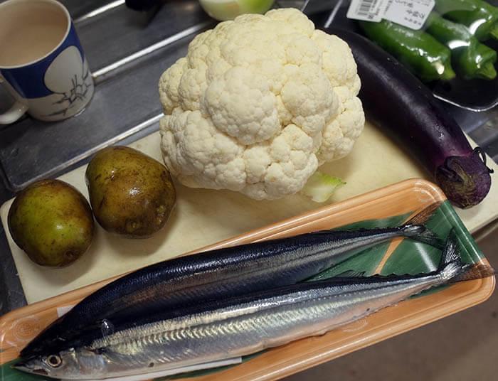 秋刀魚カレー
