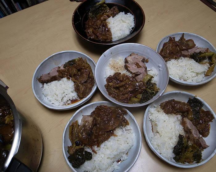豚肉と白菜の中華風煮込み