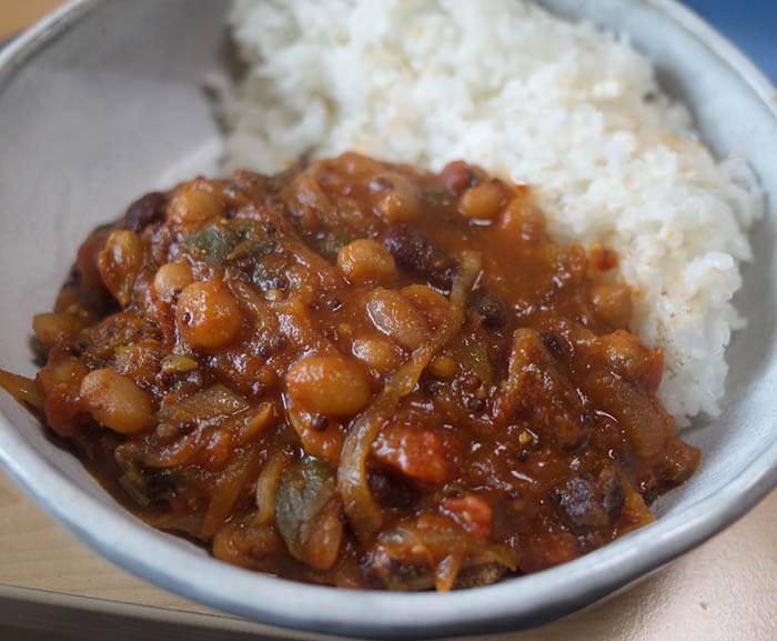豆のカレー