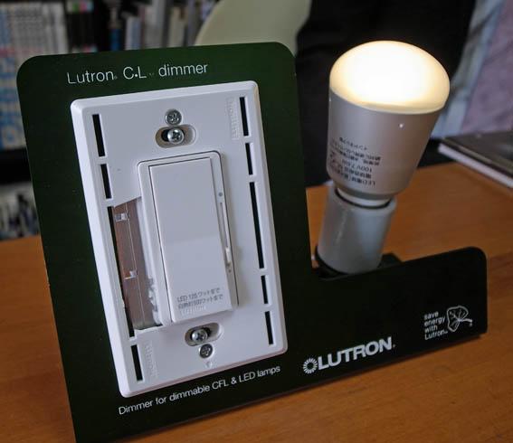 LED調光スイッチ