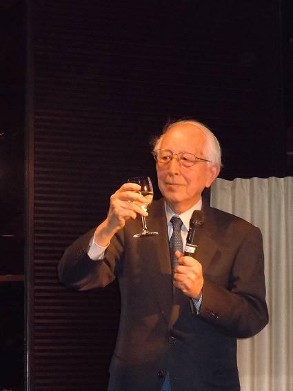 槇文彦先生の乾杯のあいさつ