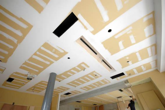天井の塗装下地