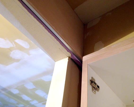 上吊引き込み扉枠