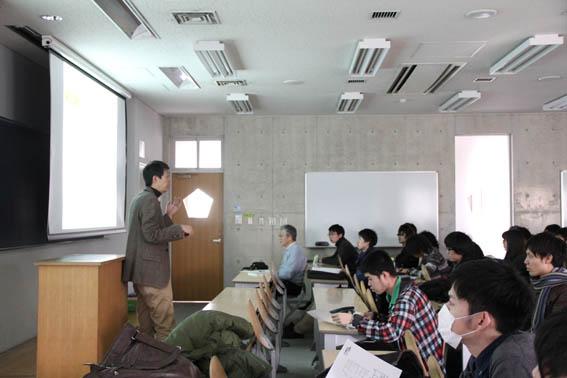 東洋大学工学部建築学科でのリノベーション授業