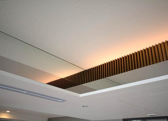 折り上げ天井のデザイン