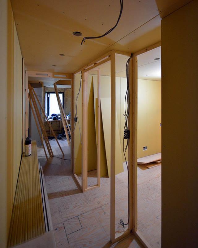 木製軸組壁下地