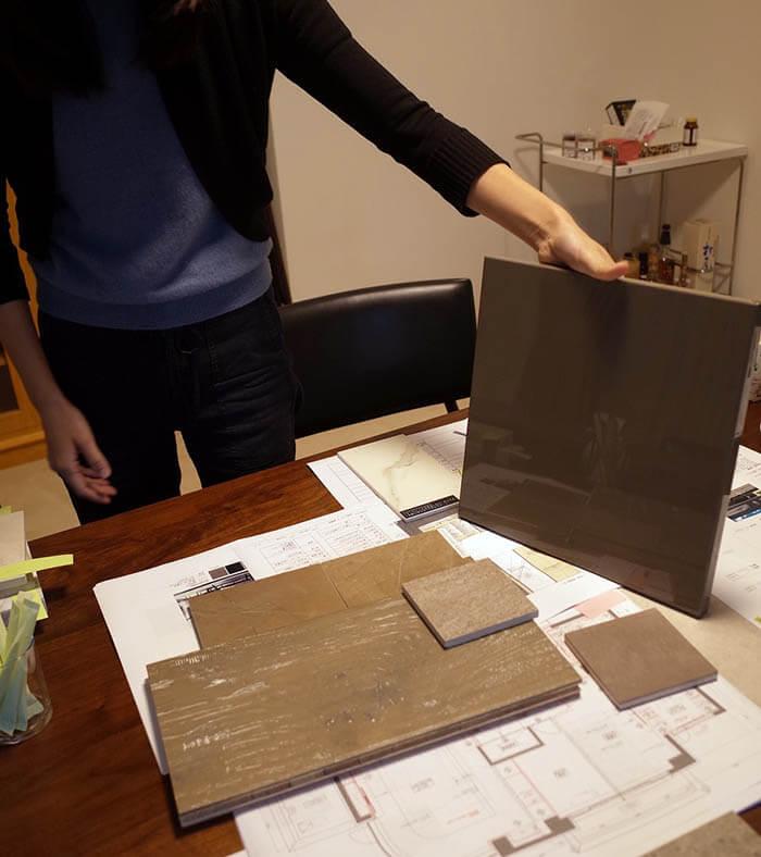 素材選び@高級マンションリノベーション渋谷区Q邸