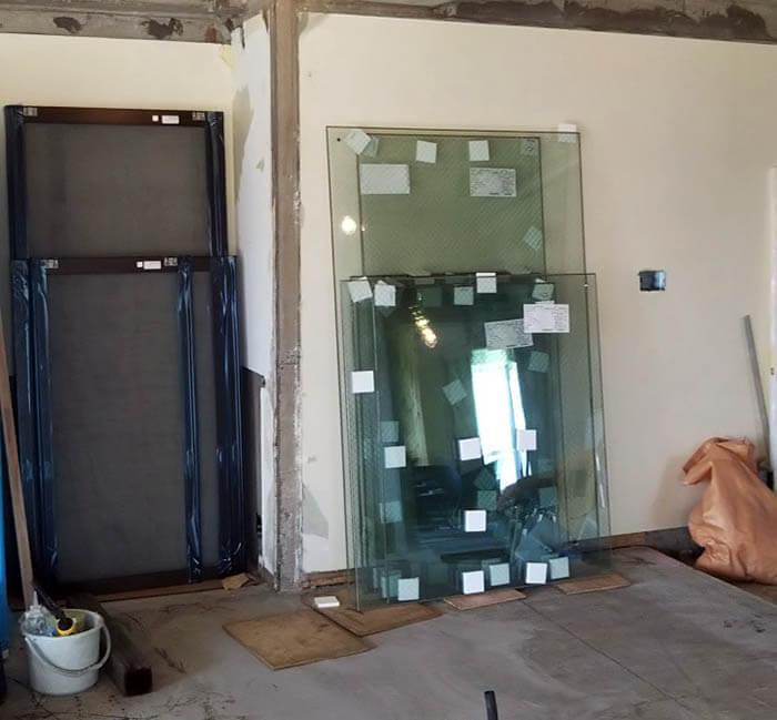 マンションのガラス交換_スペーシア