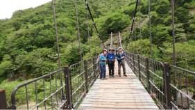 なが~い吊り橋