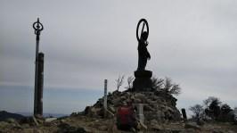 釈迦が岳山頂