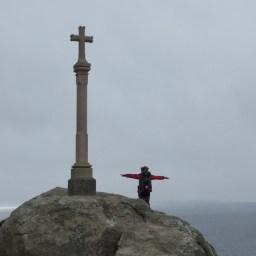 スペイン最西端フィステーラの十字架