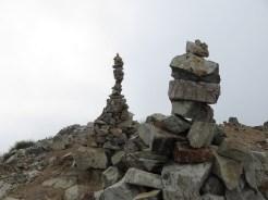 爺ケ岳の頂上