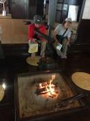 曲家資料室の囲炉裏