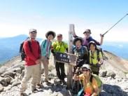 剣ヶ峰の頂上(3025.7m)