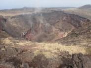 噴火口は迫力満点