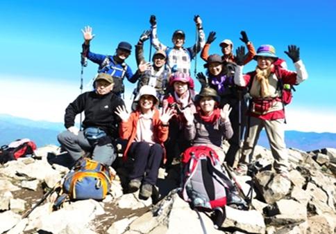 磐梯山山頂  1,819m