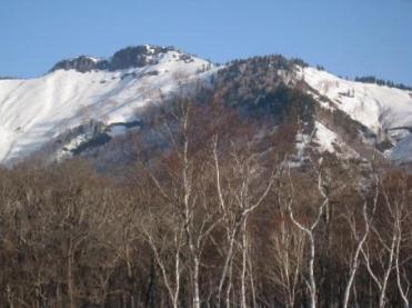 景鶴山を望む