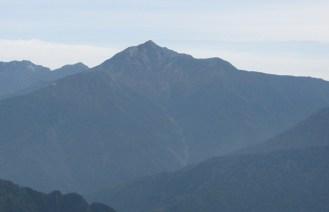 雄山頂上からの鹿島槍ヶ岳