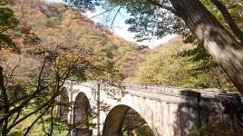 高さ30mのめがね橋