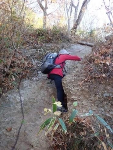 男体山への登り②