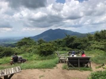 お決まりの筑波山でしたが、視線を右下に持っていくと