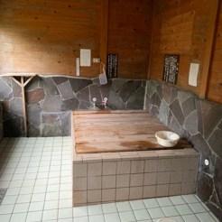 写真5:山小屋の風呂