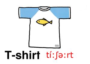 こども英語 Tシャツ