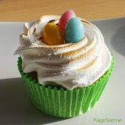Citron marengs cupcake med lemoncurd surprice