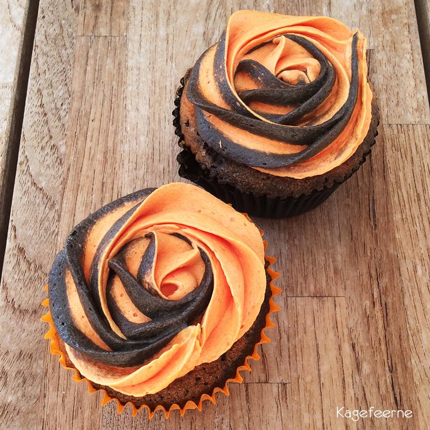 Appelsin-chokolade-cupcakes