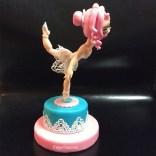 Ballerina lavet af Fondant