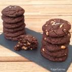 Cookies hvor man kan se karamel surprice