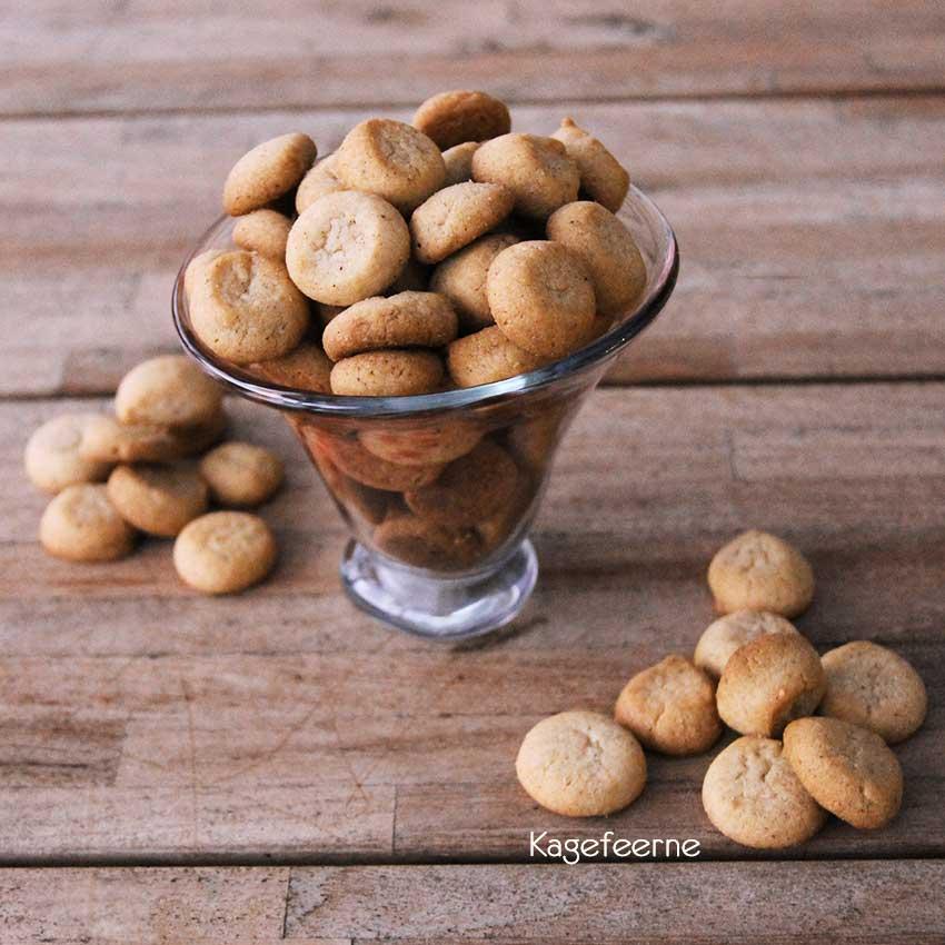 Pebernødder i glas