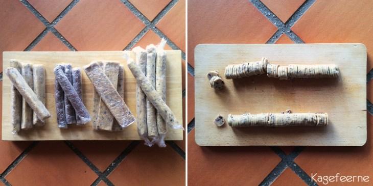 4 slags Specier, gøres klar til en tur ovnen