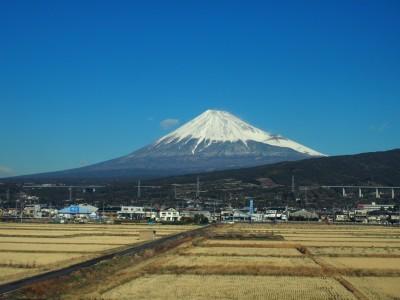 吉原の富士山は、素晴らしい快晴