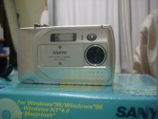 初代デジタルカメラ