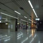 新幹線から降りた、その駅は