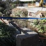 消えゆく玉川上水の廃線跡