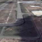 大韓航空機、秋田空港の誘導路に着陸