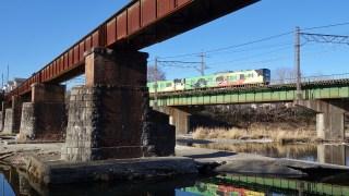 旧入間川橋梁散策