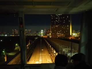 ゆりかもめ&はとバス夜景列車