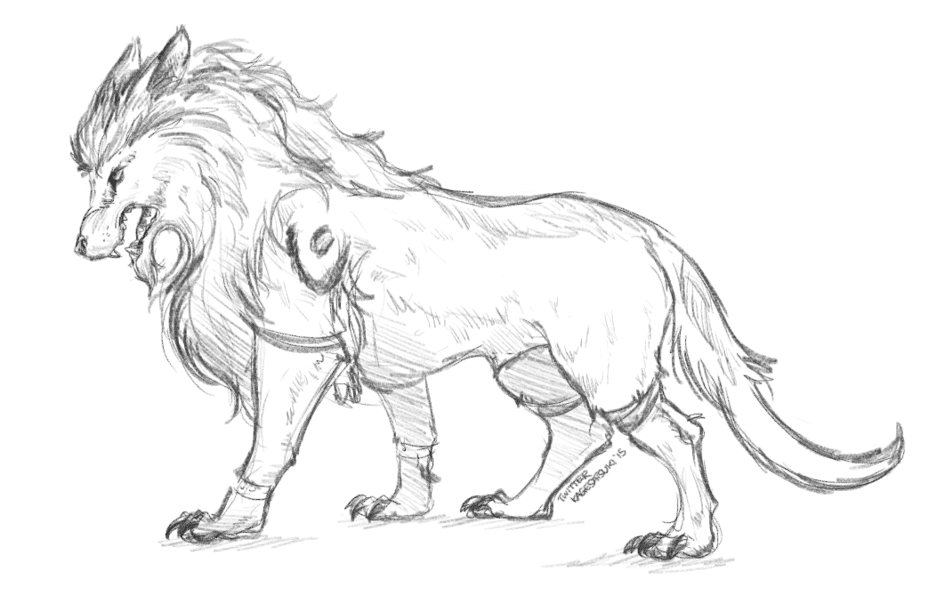 Just experimenting with an alternate worgen 'cat' form
