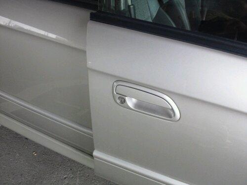姫路市でスバルレガシーB4自動車の鍵の紛失 キー作製 20120312