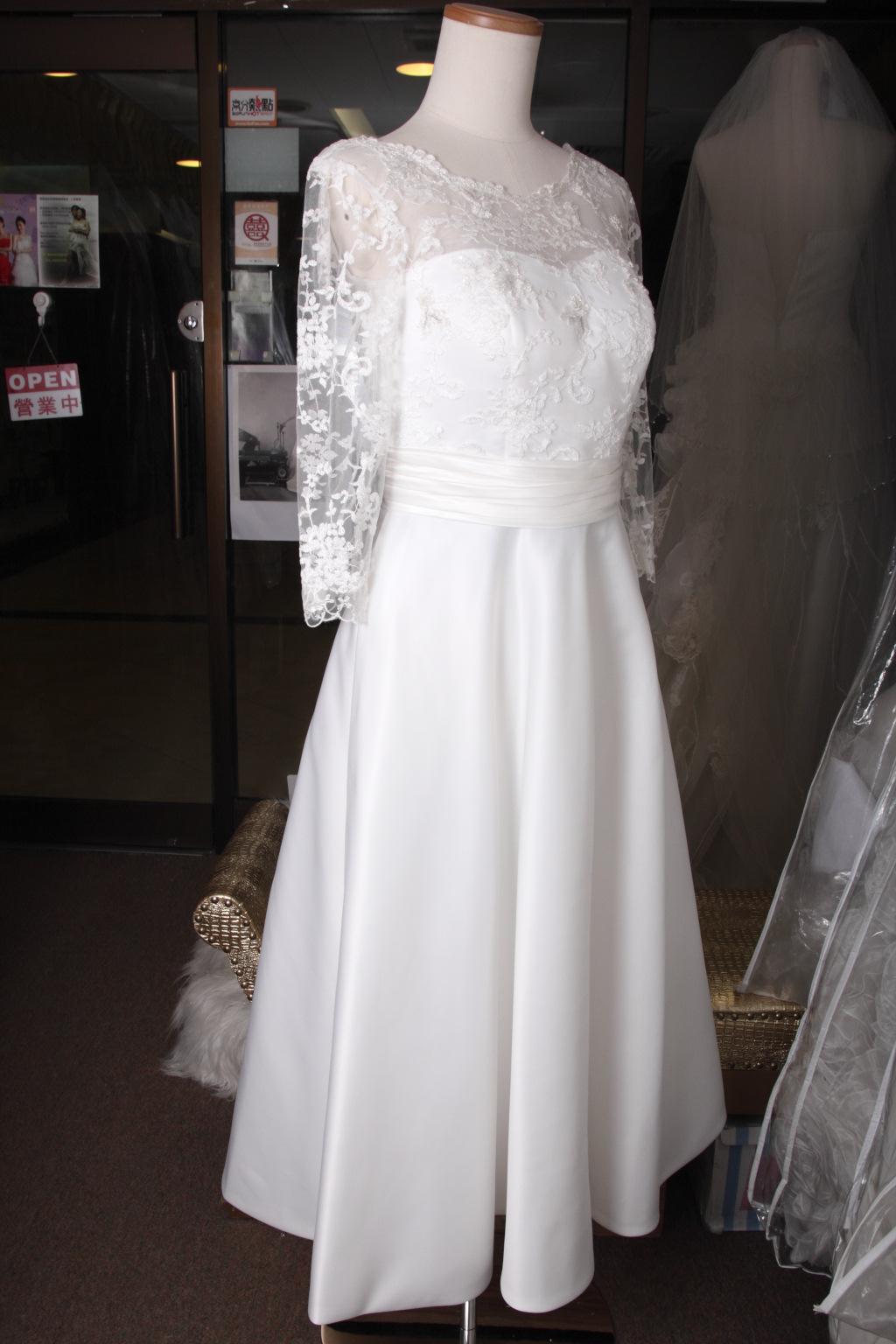 註冊行禮短婚紗 TE019