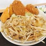 東松山市松葉町4丁目「金ちゃん食堂」のがっつり定食
