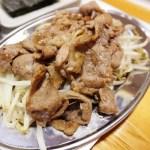 熊谷市別府1丁目「焼肉ジンギスカン きたや」のジンギスカン定食