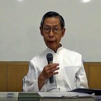 第24回夏季集中講座第3日の竹山神父