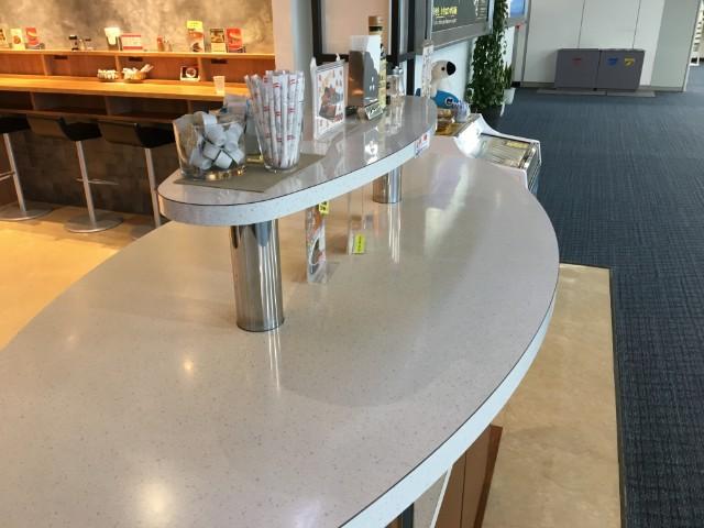 鹿児島空港軽食のSKYESHOPの雰囲気