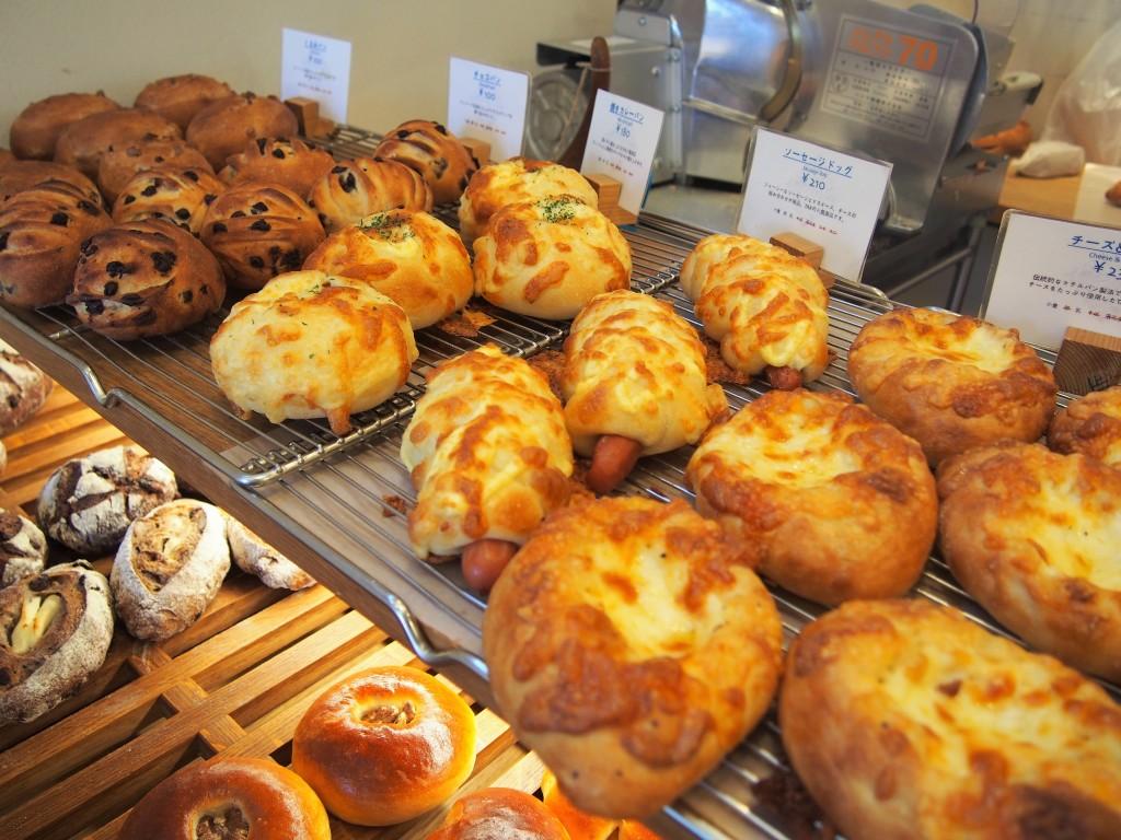 タックバゲリカフェのパン